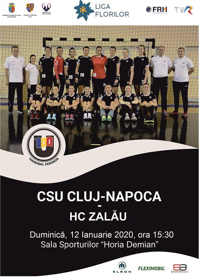 U Cluj-Napoca – HC Zalau