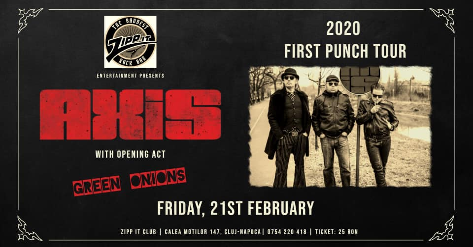 AXiS – First Punch Tour Live @ Zipp It Cluj