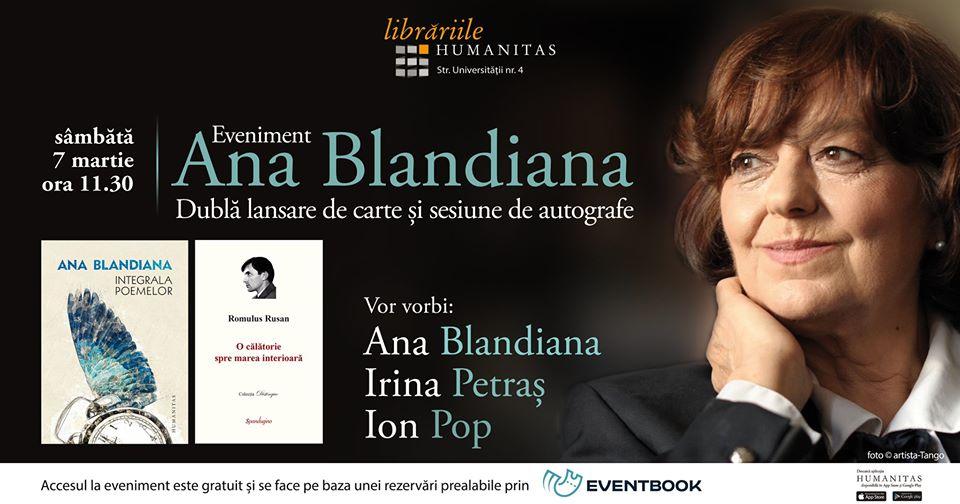 Ana Blandiana la Cluj