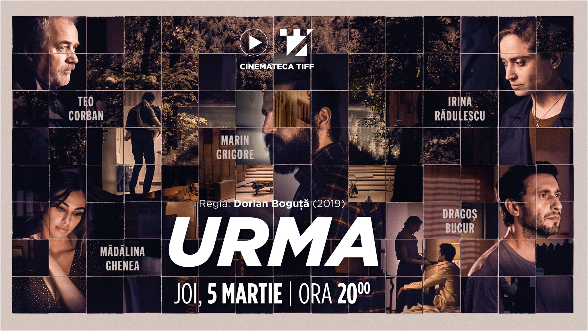 Avanpremieră Urma | Cinemateca TIFF