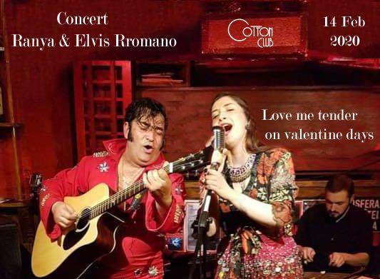 Concert: Ranya & Elvis Rromano @ Cotton Club