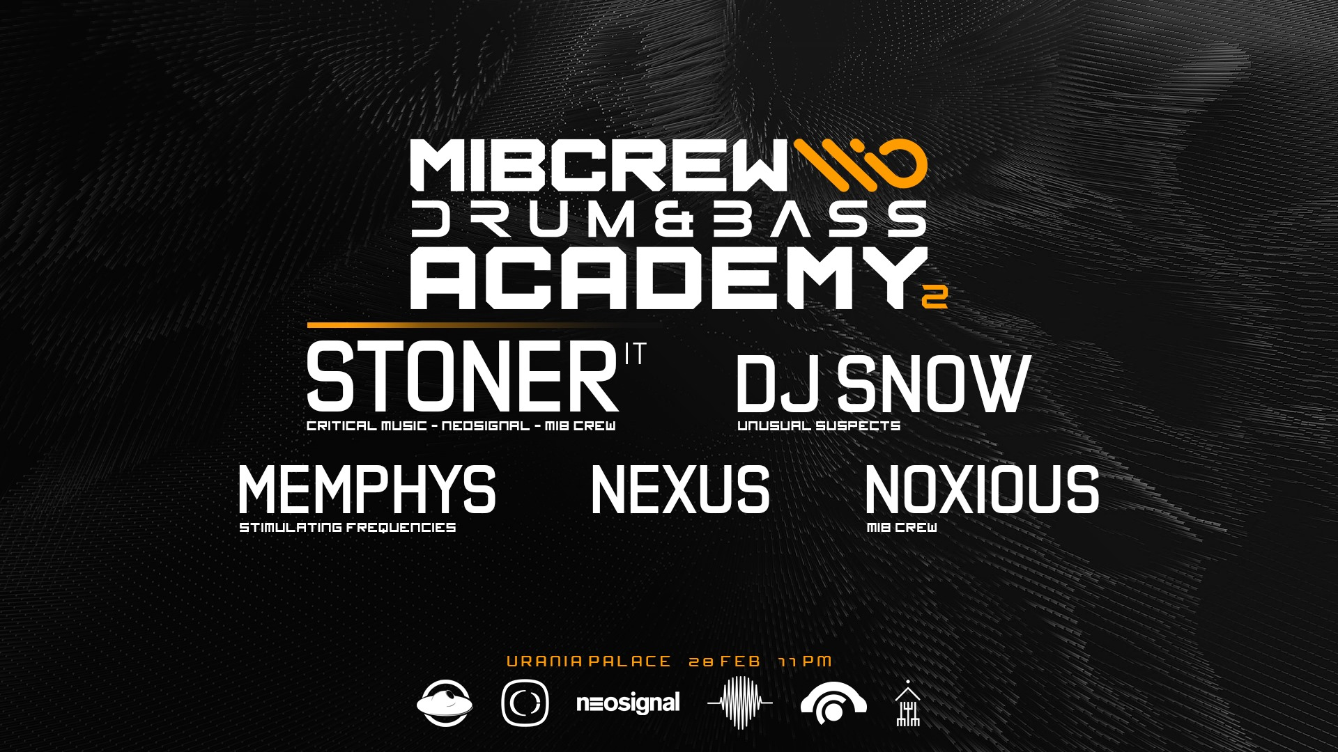 Drum & Bass Academy with Stoner [IT]