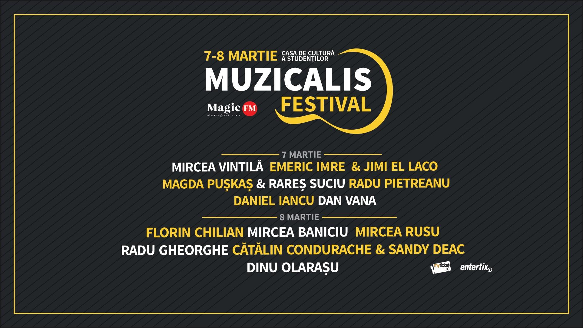 Muzicalis Festival @ Casa de Cultură a Studenților