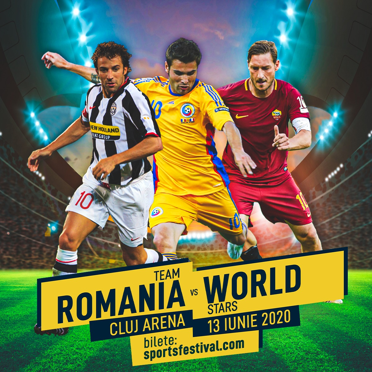 Balonul de Aur vine la Cluj, la Sports Festival