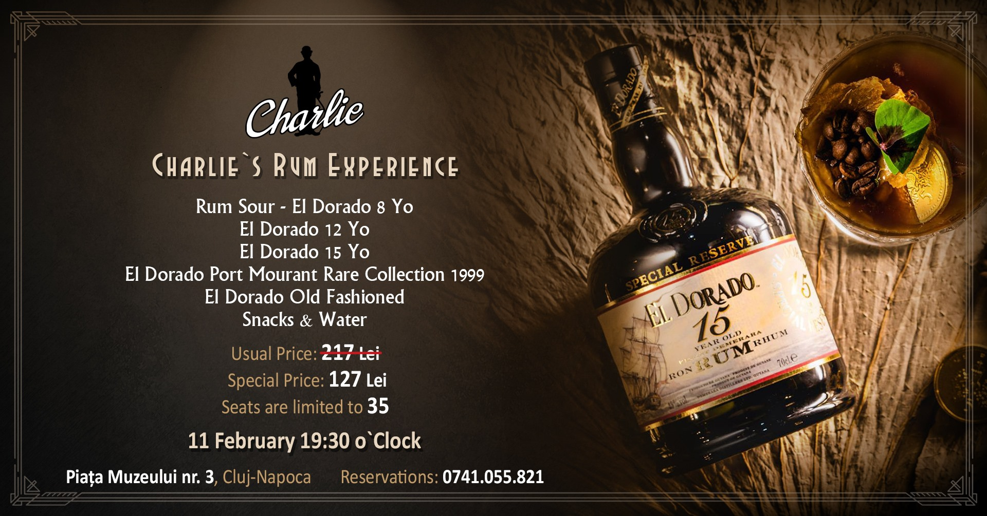 Charlie`s Rum Experience