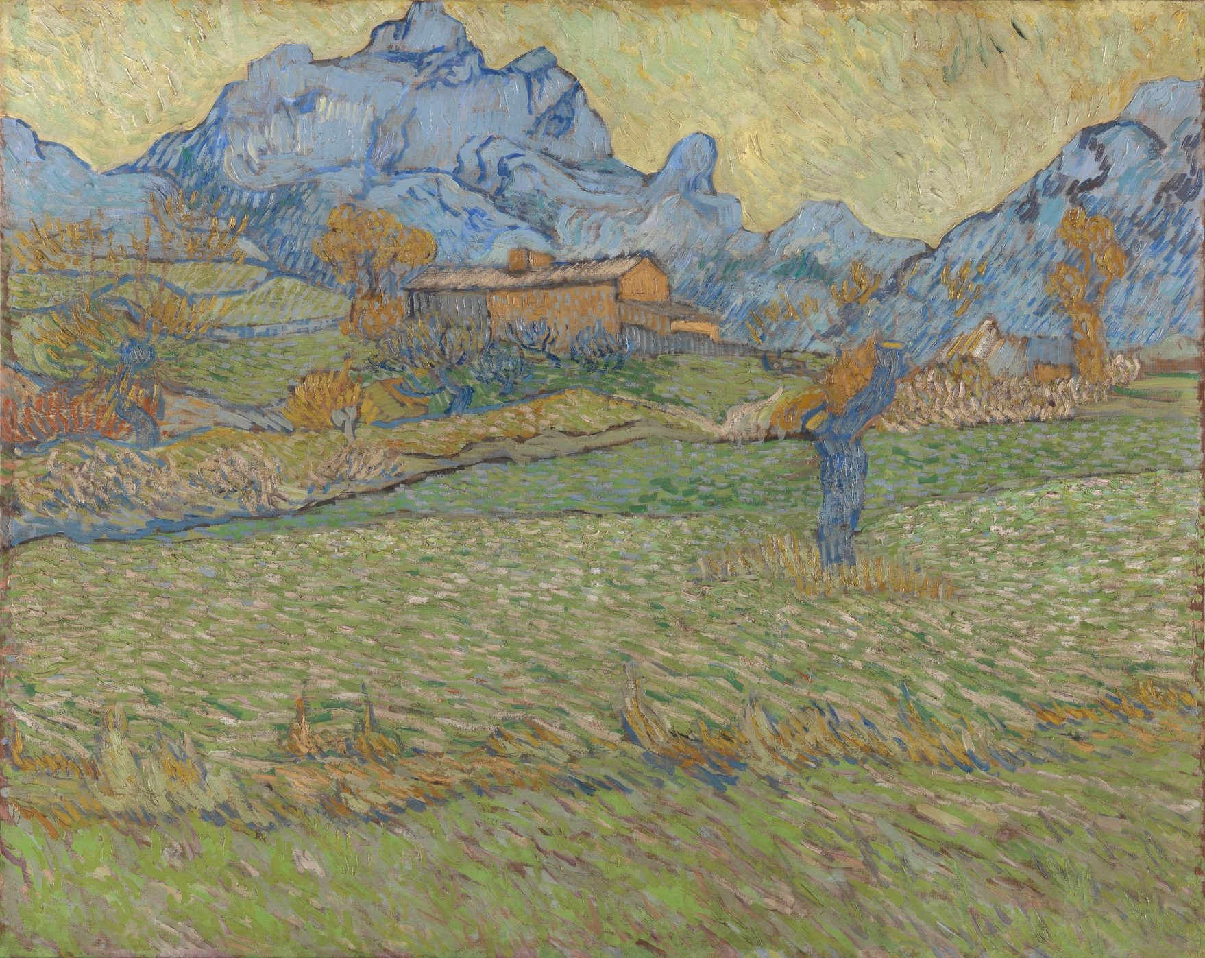 DocART / Van Gogh Of Wheat Fields And Clouded Skies