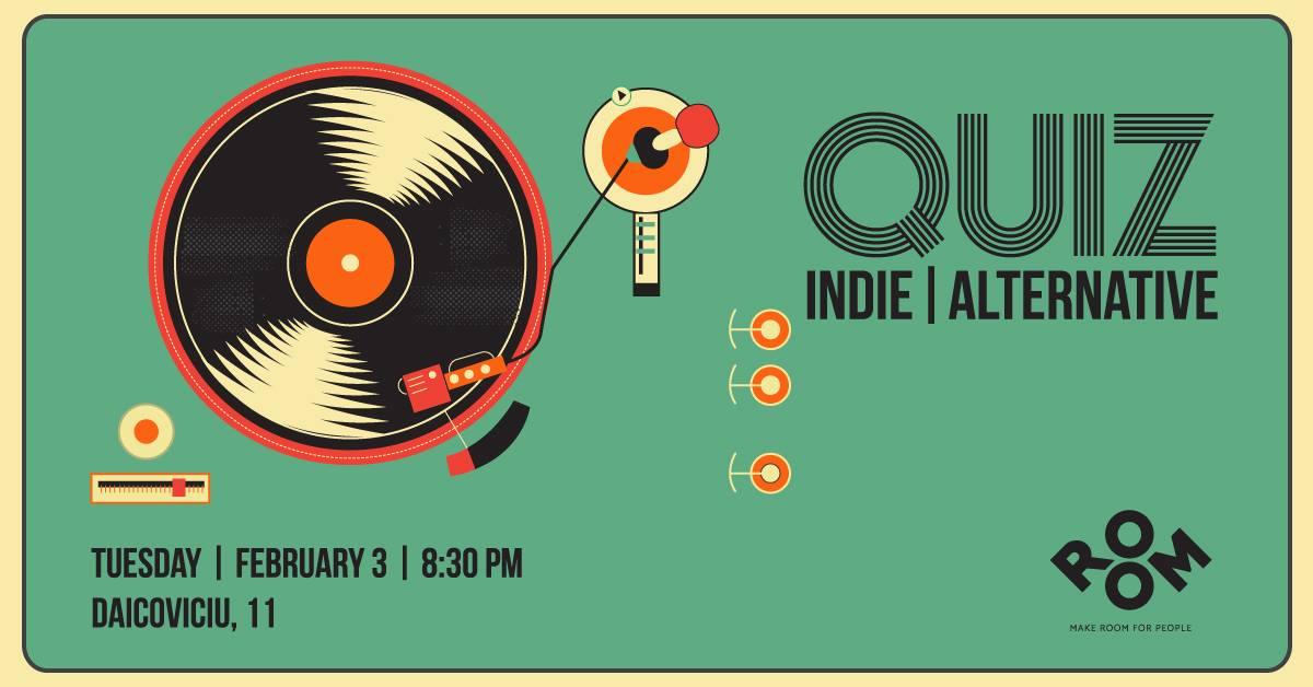 QUIZ night | indie/alternative music (part 17)