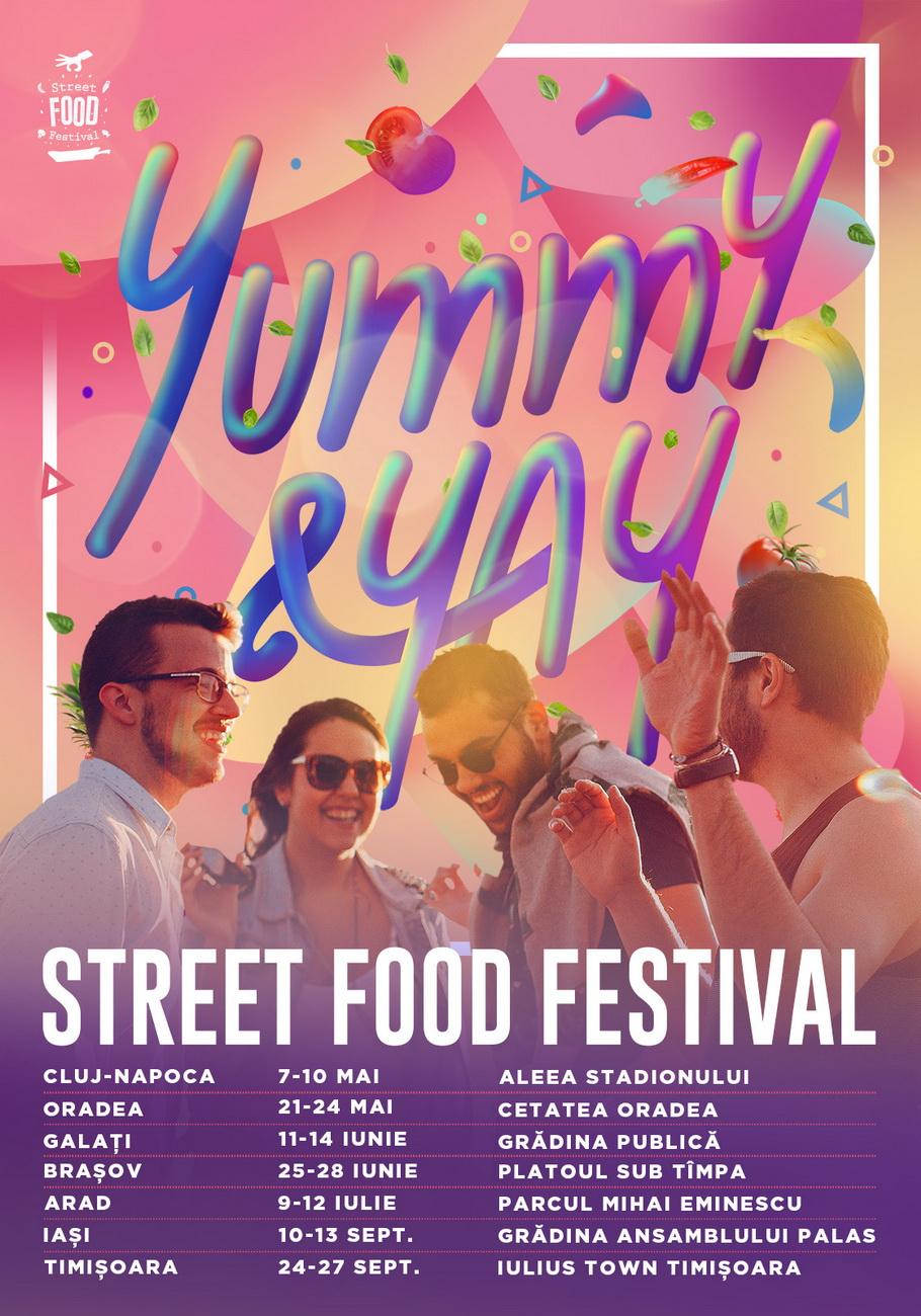 Anul acesta Street FOOD Festival este Yummy&Yay