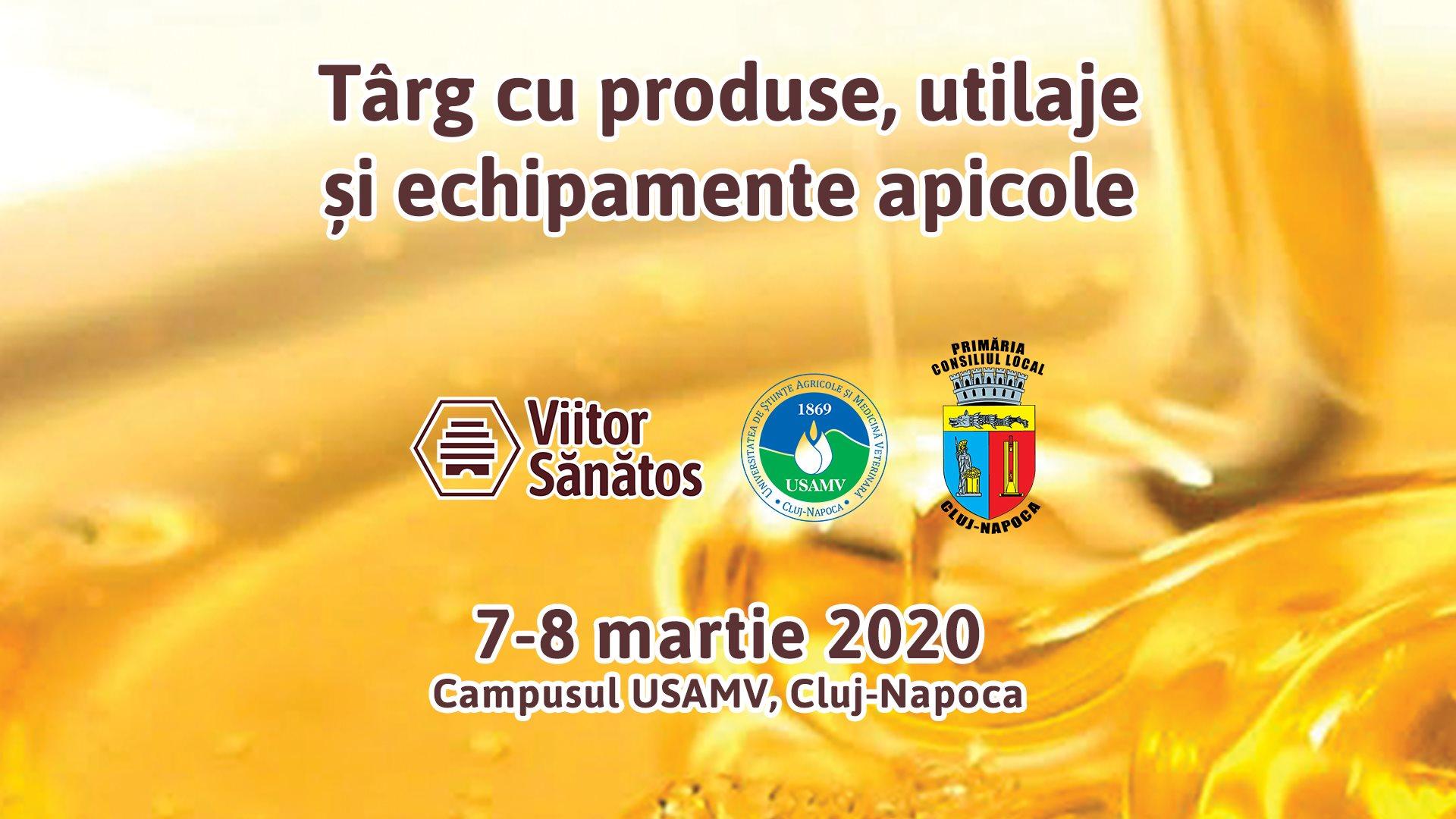 Târg apicol 2020 @ Campus USAMV Cluj