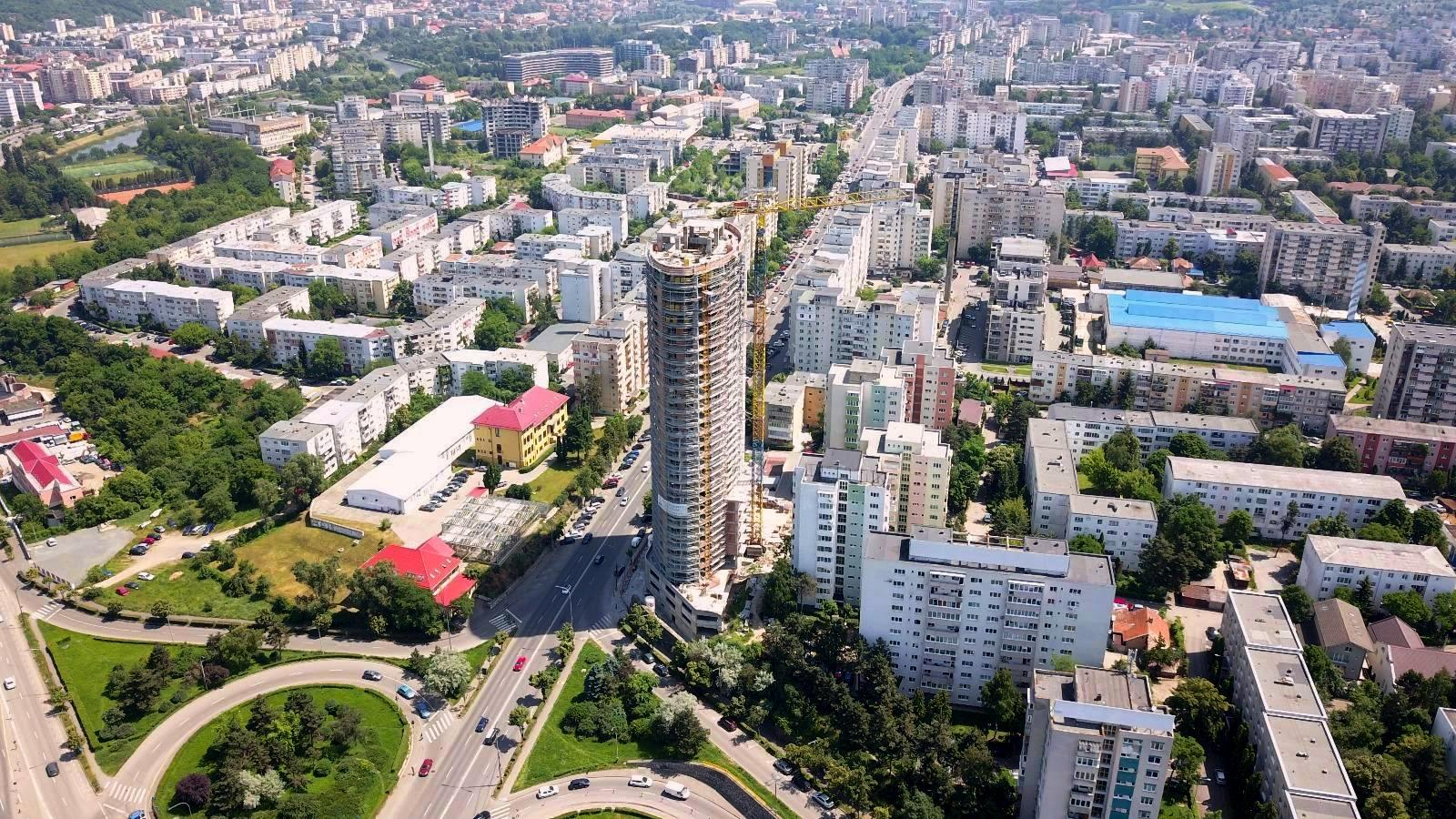 Cele mai înalte clădiri din Cluj-Napoca