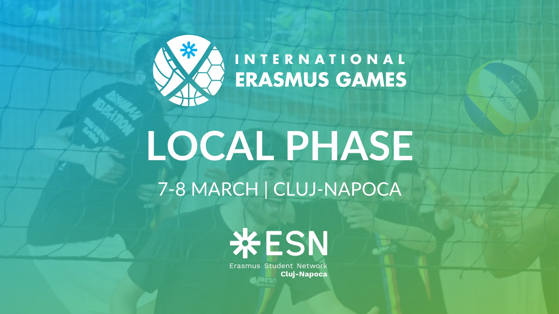 International Erasmus Games (IEG) 2020 – Local Phase Cluj-Napoca