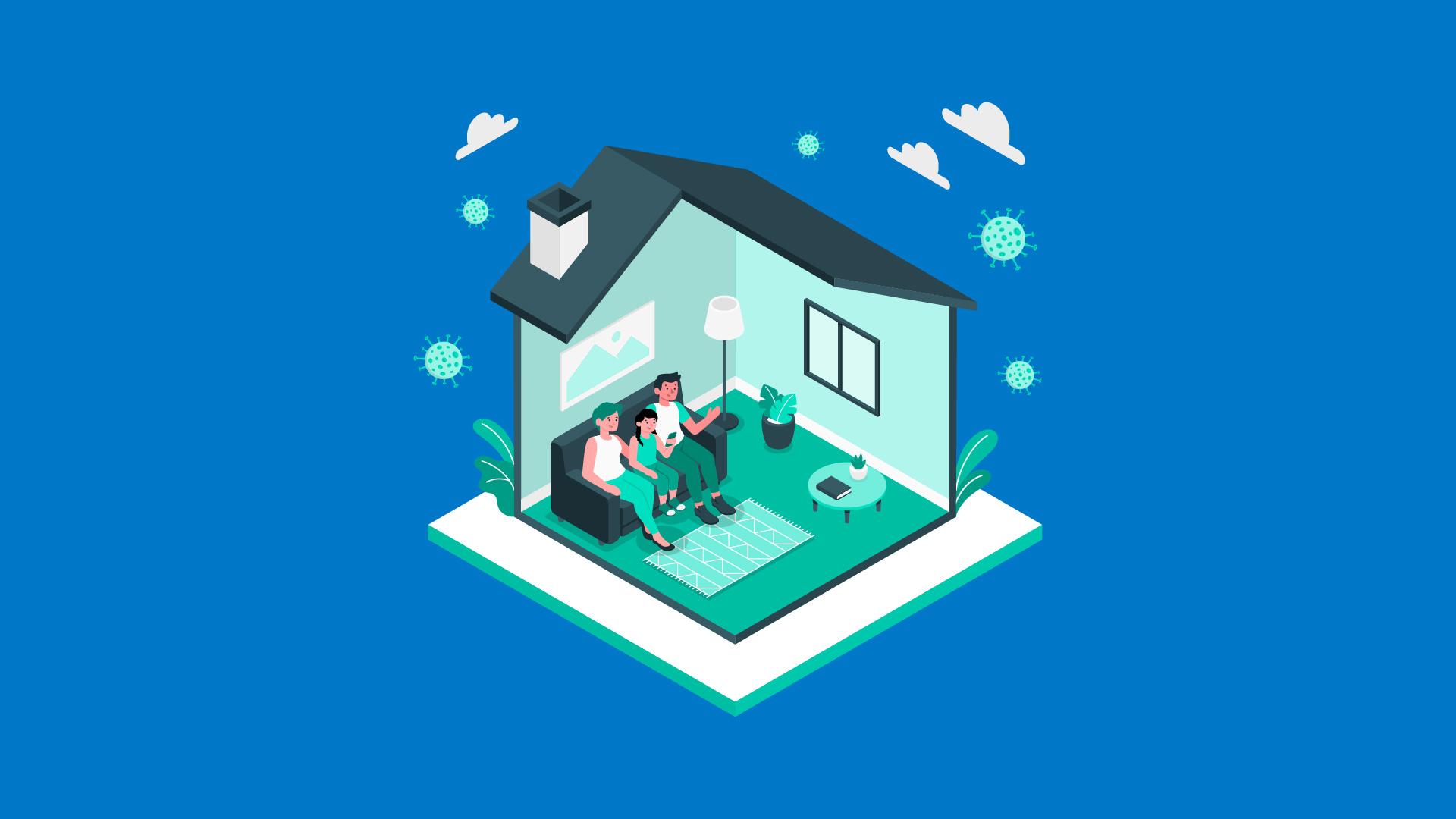 #WorkFromHome: Cum decurg zilele unor părinți în plină izolare acasă