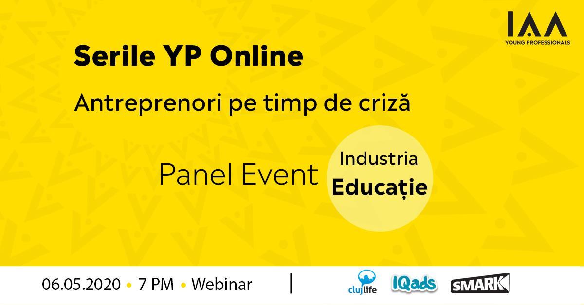 Serile YP Online: Antreprenori pe Timp de Criză-Educație