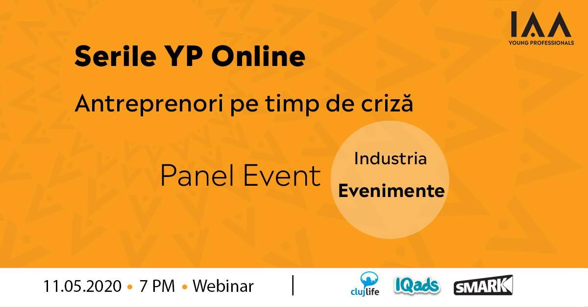 Serile YP Online: Antreprenori pe Timp de Criză-Evenimente