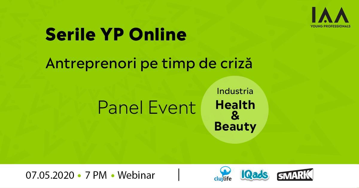Serile YP Online: Antreprenori pe Timp de Criză-Health&Beauty