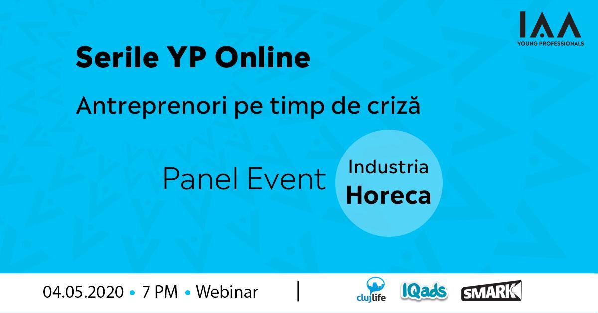 Serile YP Online: Antreprenori pe Timp de Criză-HoReCa