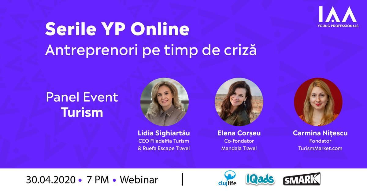 Serile YP Online: Antreprenori pe Timp de Criză-Turism