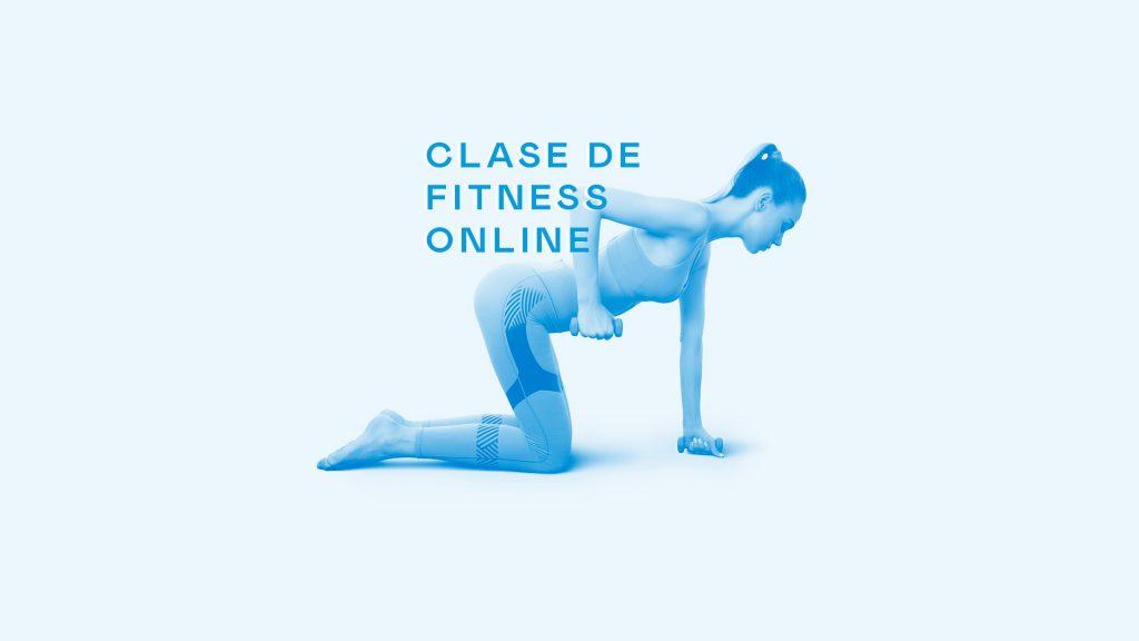 clase de fitness online