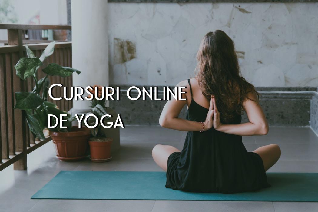 Cursuri de yoga la care poți lua parte online