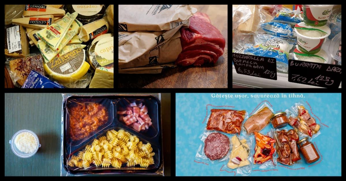 Ingrediente și kit-uri pentru gătit livrate la tine acasă