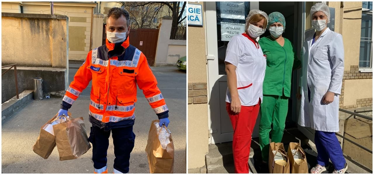 """""""Masă pentru medici"""" – un proiect inițiat de JCI Cluj și susținut de comunitate"""