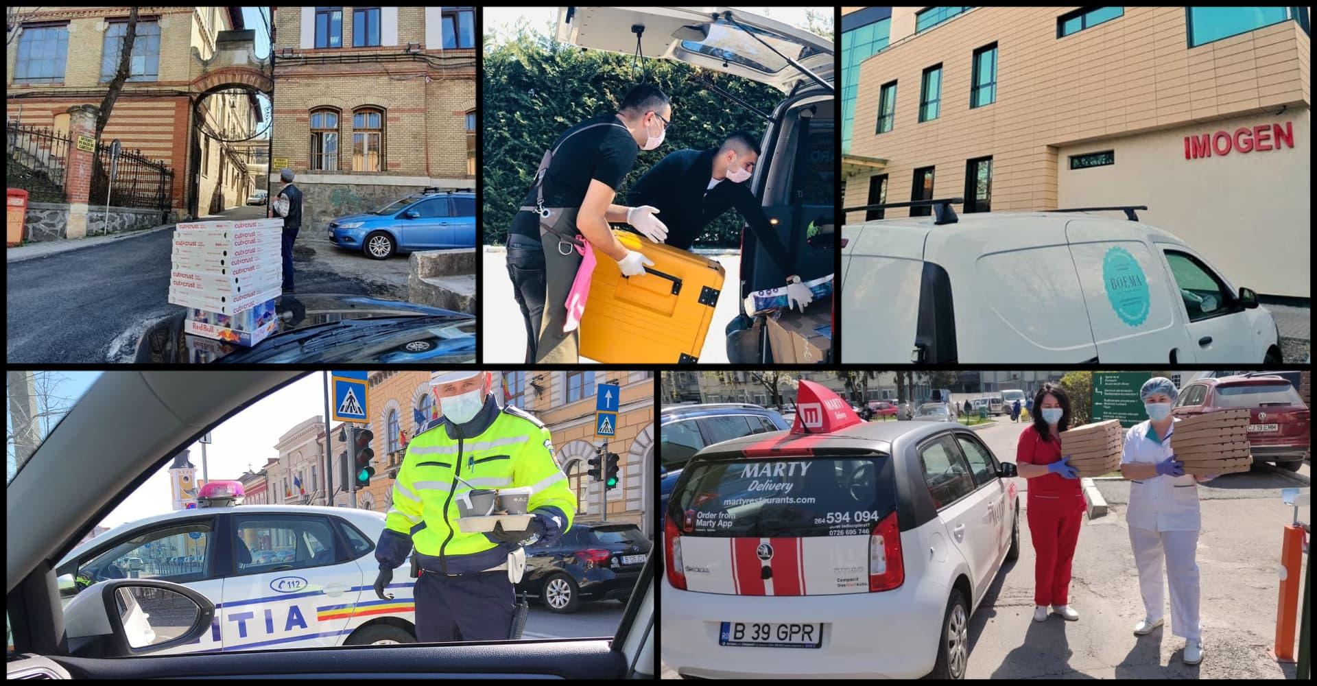 Cum susțin 5 localuri din #Cluj super-eroii din spitale