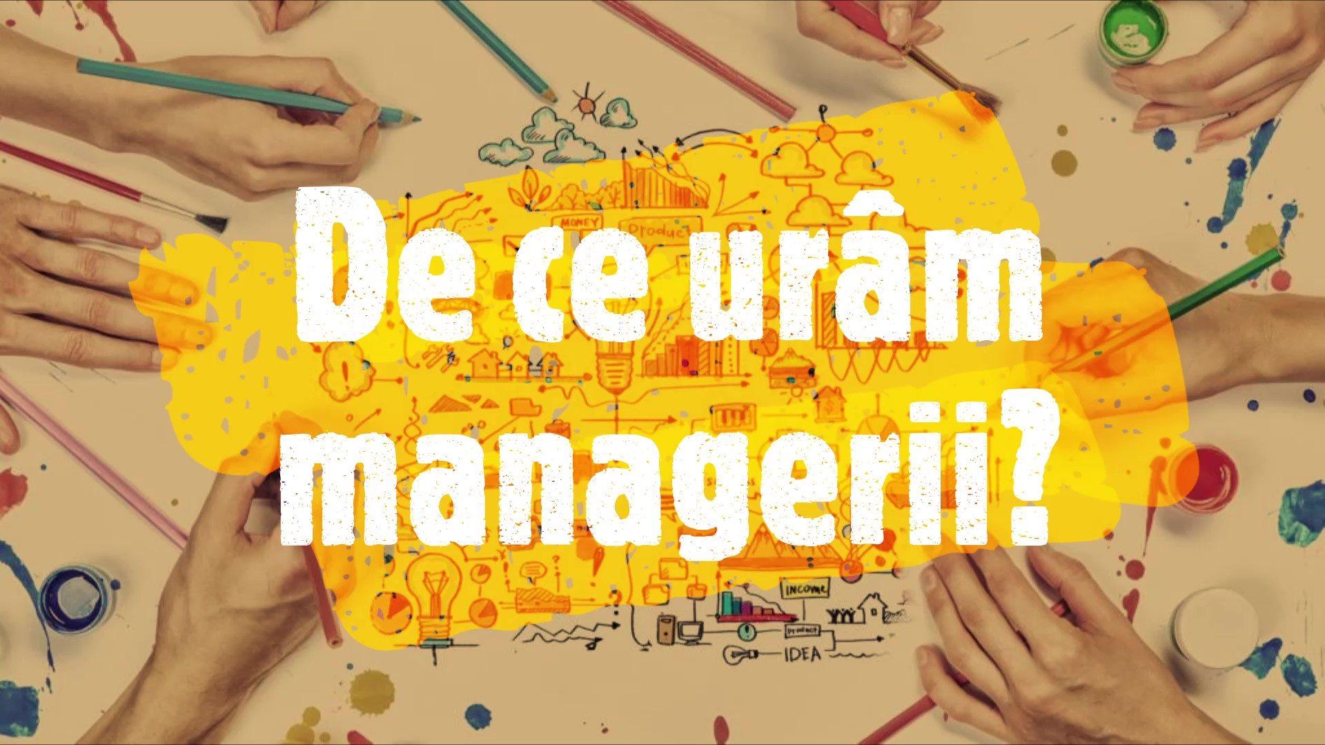CreateBreakInnovate: De ce urâm managerii