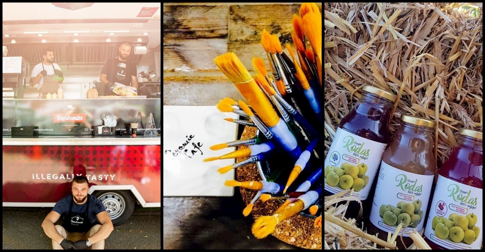 Antreprenori în vreme de pandemie: Ceramic Cafe, Vagabundos Food Truck și Sucurile Rodas