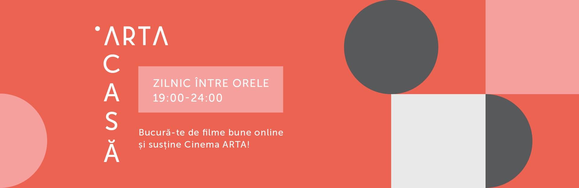 Cinema ARTA Cluj lansează programul online ARTA-Acasă