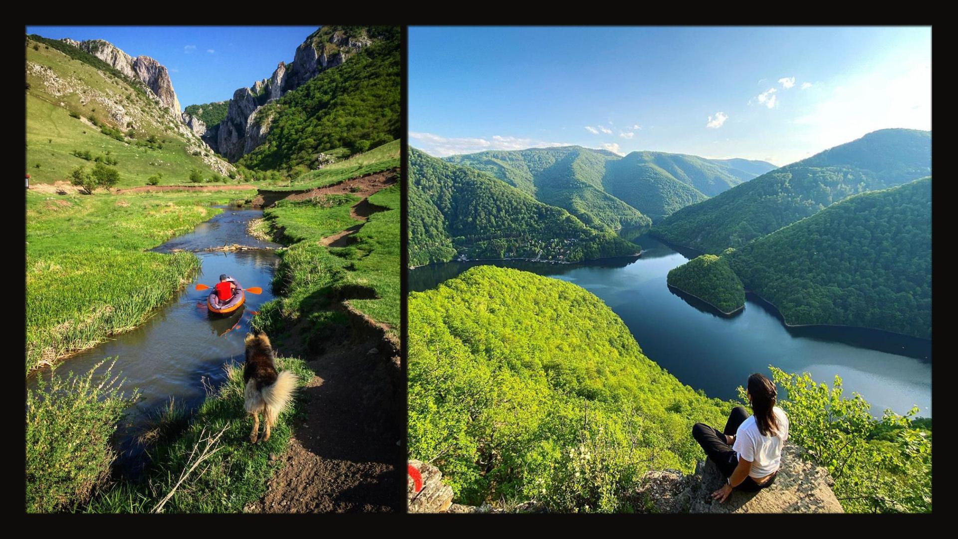 Destinații pentru excursii de o zi aproape de Cluj: chei, lacuri, cascade, castele și cetăți