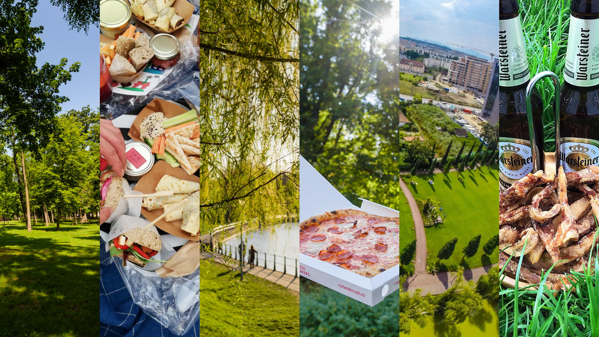 Picnic in the city: locații din Cluj unde poți organiza un mini-picnic cu preparate de la restaurantele locale