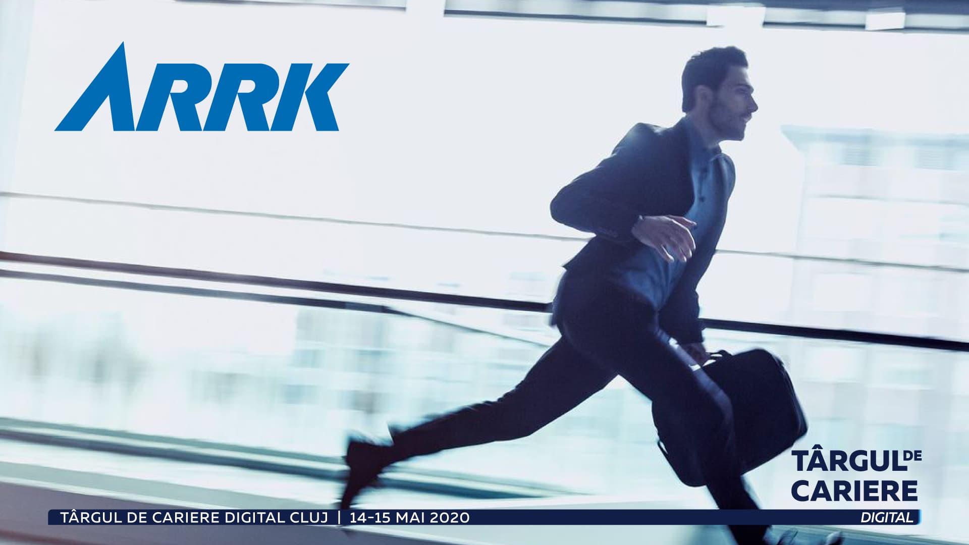 Arrk Research and Development recrutează online la Târgul de Cariere Digital Cluj