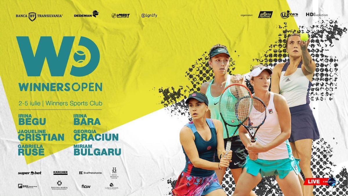 Turneu de tenis cu premii de 30k dolari la Cluj. Câștigătoarea va juca cu Simona Halep