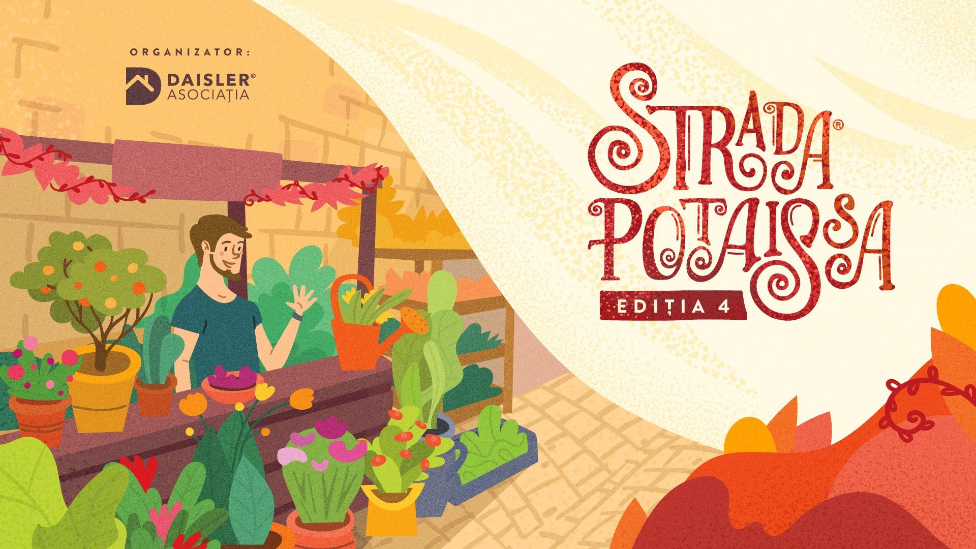 Strada Potaissa – Piața de flori altfel