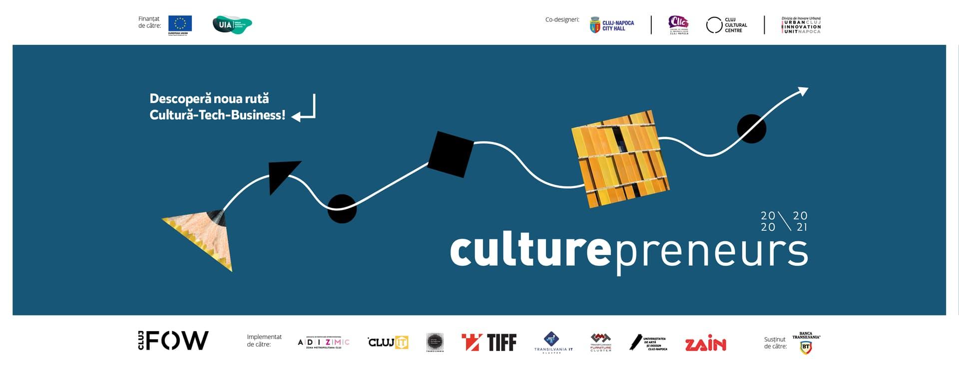 A treia ediție a programului Culturepreneurs caută 80 de idei de afaceri din sectorul cultural și creativ
