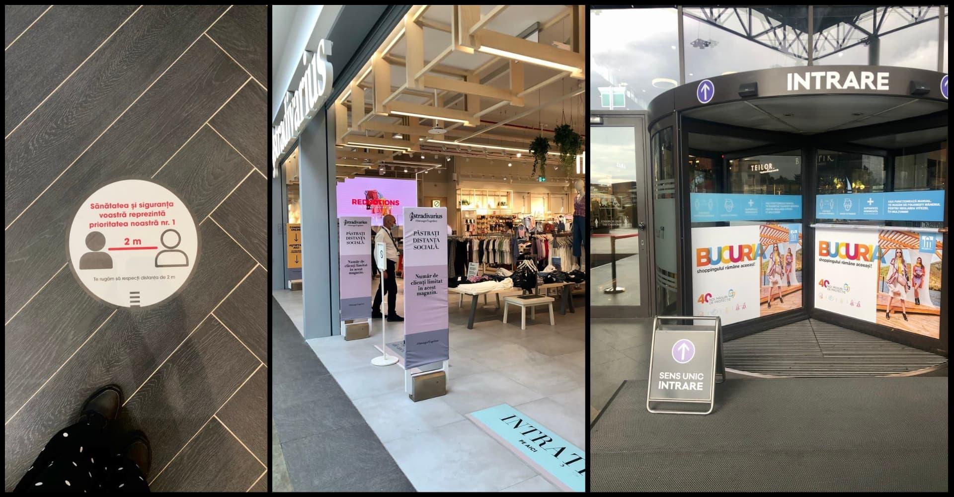 Cum a fost în prima zi când s-au redeschis mall-urile din Cluj