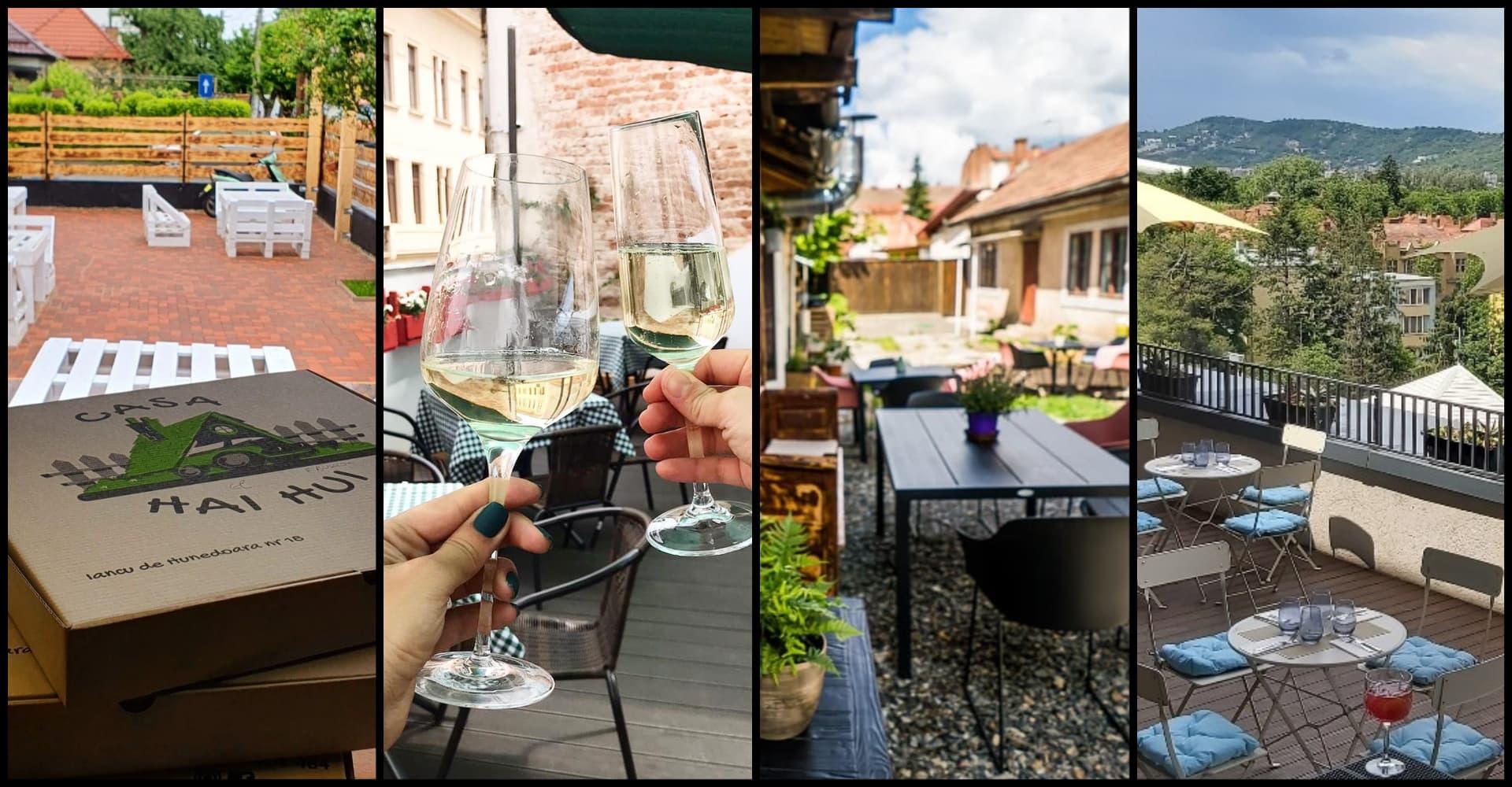 Terase noi în Cluj: Cimbru, CUIB, Pizza Hai Hui și Pop-Up Syndicate Bar