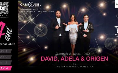 4 ani! CHIOS Social Lounge – DAY 4 – David, Adela & Origen