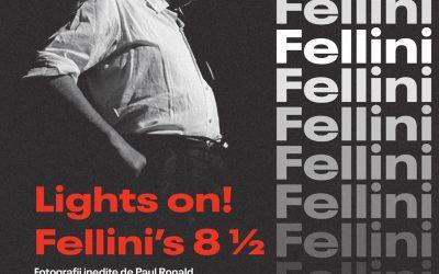 Lights on! Fellini's 81/2 – Fotografii inedite de Paul Ronald