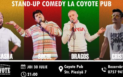 Stand UP Comedy la Coyote Pub