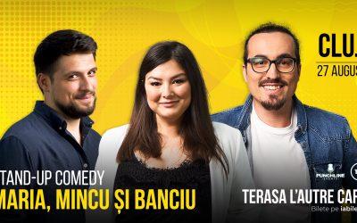 Stand Up Comedy cu Maria, Mincu & Banciu