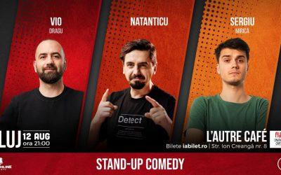 Stand Up Comedy cu Vio, Natanticu & Mirică