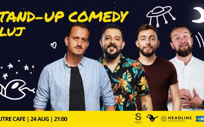 Stand-up Comedy cu Mane, Gherghe, Cîrje și Sasha Ciobanu