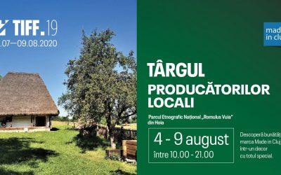 Târgul producătorilor locali | TIFF 2020