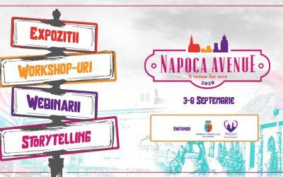 Cea de-a treia ediție Napoca Avenue va avea loc în perioada 3-8 septembrie