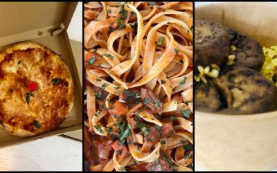 Nume noi pe piața de delivery din Cluj: Pizza da Giulia, Vegetus și Trattoria Sapori