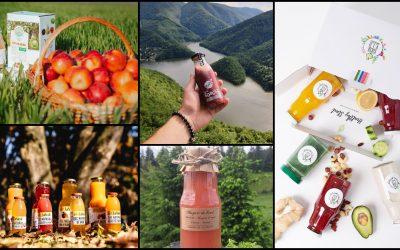Sucuri naturale de la producători locali din Cluj
