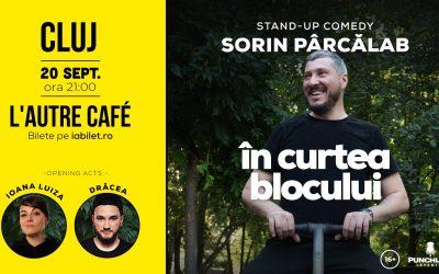 Stand Up Comedy cu Sorin Pârcălab: În Curtea Blocului