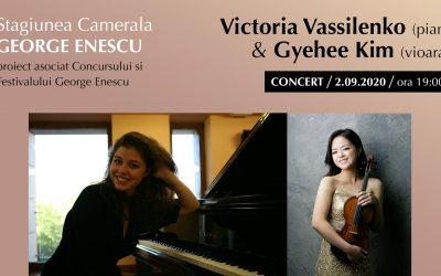 Concert Victoria Vassilenko & Gyehee Kim-Stagiunea Camerală George Enescu