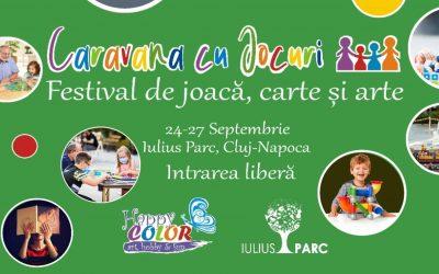 Festivalul Caravana cu Jocuri